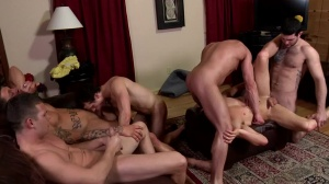 Disqualified - Sebastian young and Hayden Richards butthole Hump