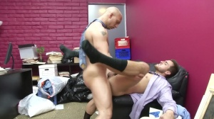 Law And Hoarder - John Magnum and Bryce Star anal screw