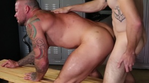 Confessions Of A Straight chap - Sean Duran & Jackson Traynor butthole pound