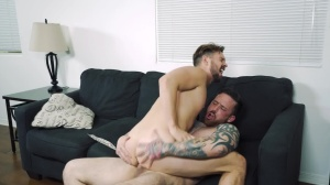 Space Invaders - Jordan Levine with Casey Jacks anal Hook up