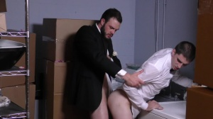 Runaway Groom - Cliff Jensen with Damien Kyle butthole Hump