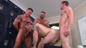 Scrum - Colby Jansen & Connor Maguire ass Hump