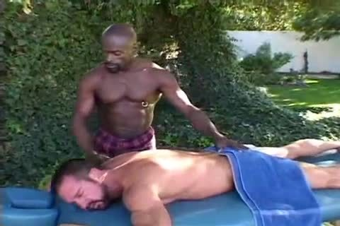 Daddy Getting nailed By Muscle Massage Therapist
