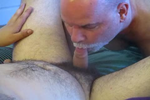 ambisexual Bear Cub's First oral To Completion.