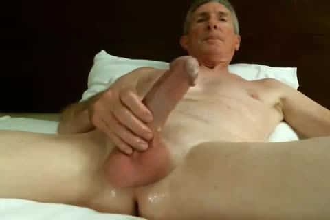 gigantic Dicked daddy stroking 032