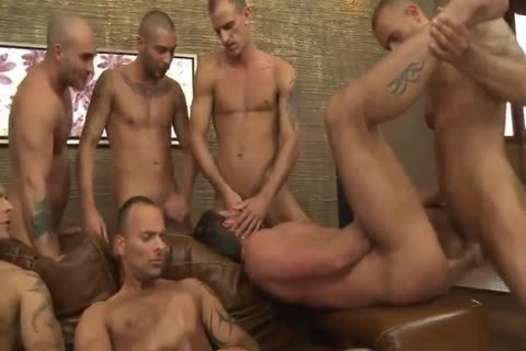 Toby Dutch receives pounded In A Seven-chap raw gang pound
