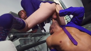 ASSisting The CEO - Manuel Skye and Thyle Knoxx ass invasion