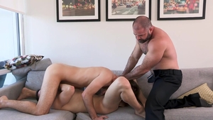 FamilyDick: Hairy Maxx Monroe really likes hardcore sex