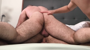 Family Dick - Maxx Monroe with Kyle Travers shared in the bed