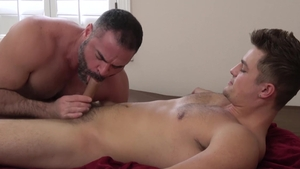 FamilyDick: Hard nailing along with athletic Bishop Angus