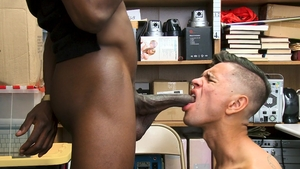 YoungPerps: Young Jimmy Fame butt pounded