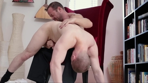 MissionaryBoys.com - Dirty Elder Isaacs threeway in panties