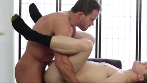 Missionary Boys - Elder Foster pounding during interview