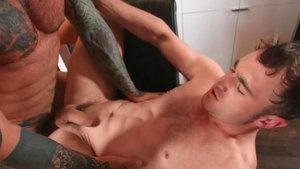 DrillMyHole - Muscle Markus Kage has a thing for rough nailing