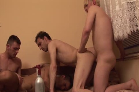 cum dong - Trash Country dudes pound In group