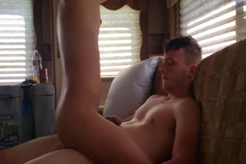 Squealing Latino twink receives Bred On A Camping Trip By H