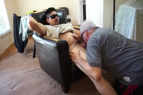 grandad engulfing And rimming Younger