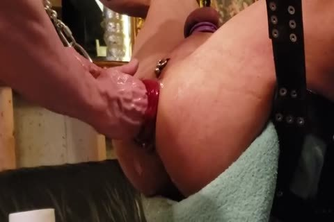 bareback pounding A Prolapsed Fisted gap
