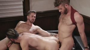 IconMale.com - Wesley Woods and Brendan Patrick sucking cock