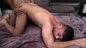 IconMale - Lance Hart in company with hairy Mason Lear
