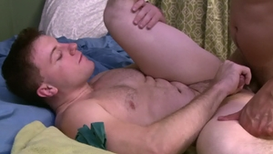 IconMale.com - Doug Acre and hairy Andrew Fitch blowjob cum