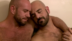 Icon Male - Muscle & hairy DILF Adam Russo reality rimjob