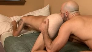IconMale.com: Young twink Bryce Action playing with Adam Russo