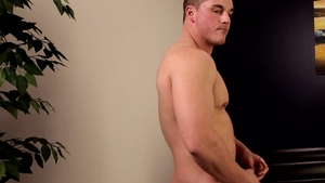Next Door Male - Caucasian Lucas Johnson masturbation