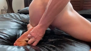 Next Door Homemade: Amateur Tanner Hyde masturbation