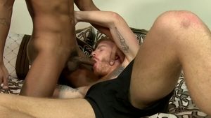 ExtraBigDicks - Tattooed gay Jay Alexander digs sex scene