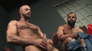 Extra Big Dicks - Muscled gay Tony Orion helps with real sex