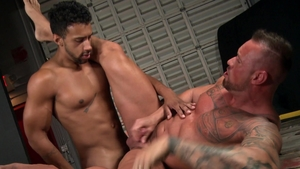 Extra Big Dicks - Gay Michael Roman bareback rimming