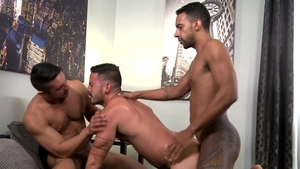 Extra Big Dicks: Gay Jay Alexander rushes ramming hard