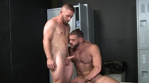 Extra Big Dicks - Caucasian Ricky Larkin is so hairy brunette