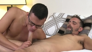 Extra Big Dicks: Joe Parker jerking Mike Lobo huge cock