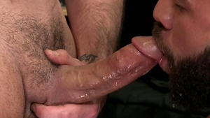 Men Over 30 - Caucasian Rego Bello feels like blowjob