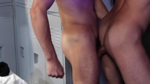 ExtraBigDicks: Caucasian Scott DeMarco in boxers throat fuck