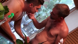 MenOver30.com: Mature Joe Parker rough receiving facial