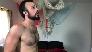 MenOver30: Hairy Brian Bonds fucking in the ass