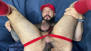 MenOver30: Latino Julian Torres receiving facial