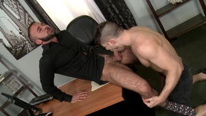 PrideStudios - Inked Connor Halstead gets hard pounding