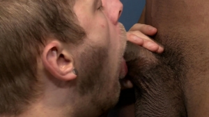 PrideStudios: Gay Jay Alexander rimming at the gym