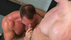 Hot House: Tight huge dick Jack Hunter ass to mouth