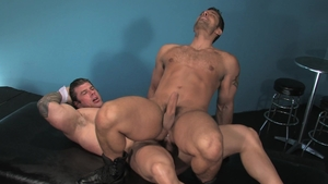 Raging Stallion - Hairy Marcus Ruhl sex for money in the club