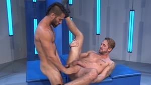 RagingStallion.com: Hairy and tattooed Wesley Woods rimming