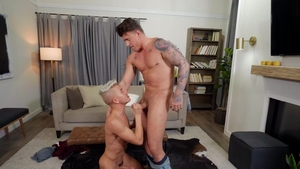 DrillMyHole - JJ Knight is a tattooed young twink