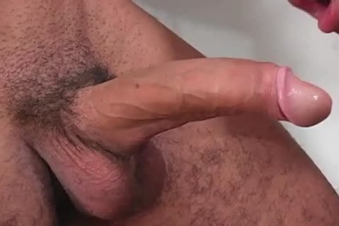 beautiful latino slams his chap painfully doggy style